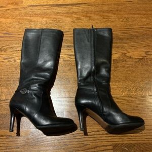 """Coach """"Susette"""" Tall Leather Boot"""